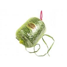 Umetna rafija, zelena, zavitek