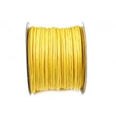 Žica ovita s papirjem, rumena 7002, 2 mm, 50 m