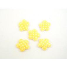 Rožice samolepilne, oranž, 4 cm, 36 kosov