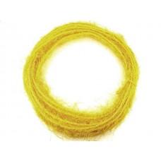Žica ovita s sisalom, rumena, 10 m