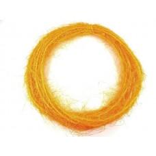 Žica ovita s sisalom, oranž, 10 m