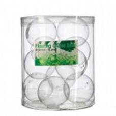 Plavajoče steklene krogle, fi 5 cm, 12 kosov