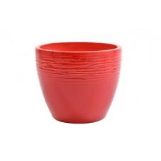 Lonec Milano CR, rdeča, premer 15 cm