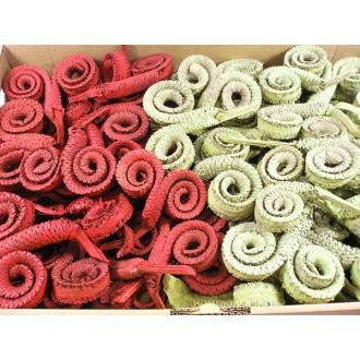 Palm ring, mix žafran / češnja - prana, 60 kosov