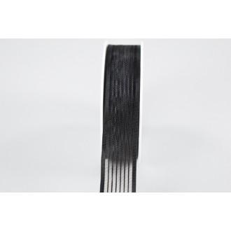 Trak Flor, črna, 25 mm, 25 m