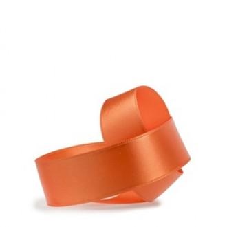 Trak saten, oranžna 40, 40  mm, 50 m
