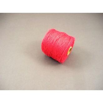 Vrvica iz jute, rdeča, 2 mm, 50 m
