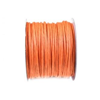 Žica ovita s papirjem, oranžna 1302, 2 mm, 50 m