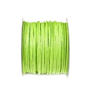 Žica ovita s papirjem, sv. zelena 2601, 2 mm, 50 m