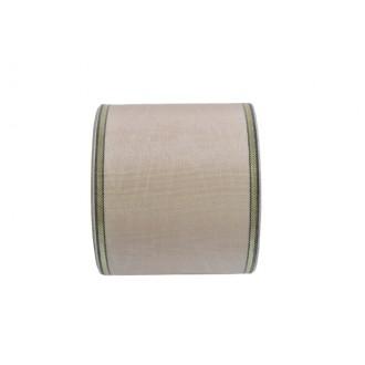 Žalni trak zlat rob, krem, 72 mm, 25 m