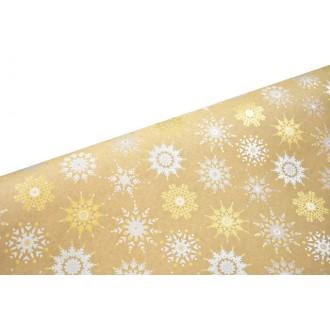 Papir Firework flakes, natur 7060, 70 g, 70 cm x 25 m