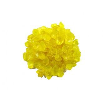 Steklen granulat , rumena, 4 kg