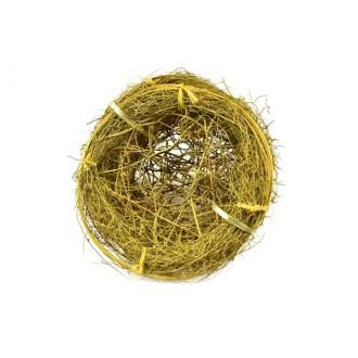 Manšete KROG, Muelen., rumene,  fi 20 cm, 5 kosov