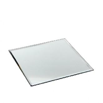 Ogledalo - oglata  plošča obrobljena, 20 x 20 cm