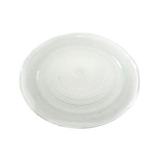 *St. krožnik, vzorčast, bela, 29 cm