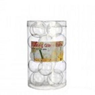 Plavajoče steklene krogle, fi 3 cm, 20 kosov