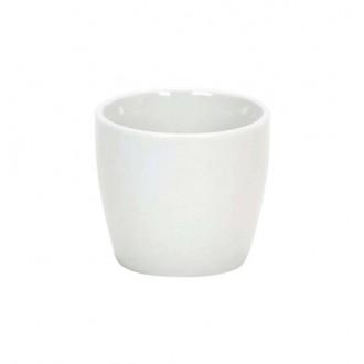 Lonček Mini, bel, fi 7 v 6,5 cm