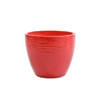 Lonec Milano CR, rdeča, premer 14 cm
