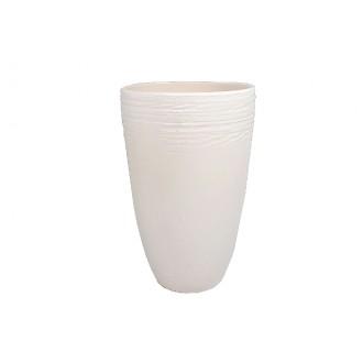 Vaza Sienna, krem, fi 17,5 višina 27 cm